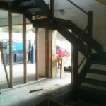 free standing interior stairs