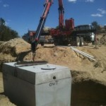 deliver of septic tank