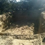 hole for septic tank