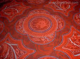 Carpet with patterns