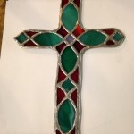 stained glass cross 3